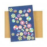 Card – Round Blue