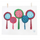 Tea Towel – Lollipop Trees