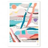 "Giclée Print A4 – Coast ""Road Trip"""