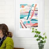 "Giclée Print A3 – Coast ""Road Trip"""