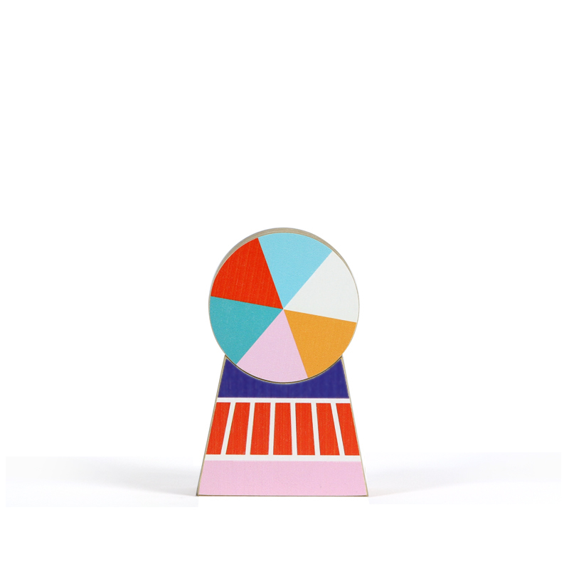 Wooden Decoration – Spin 1 Small
