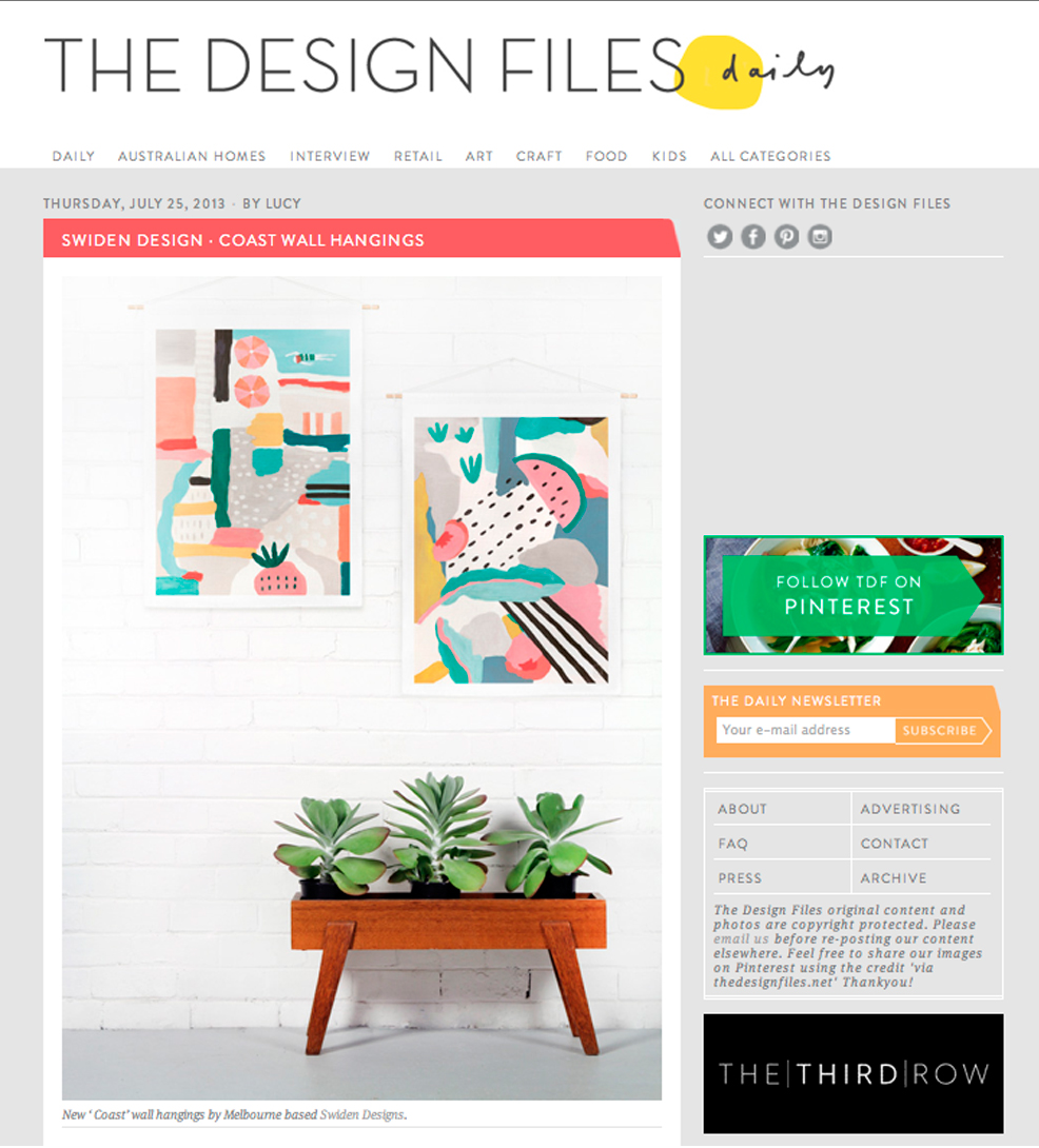 Swiden On The Design Files