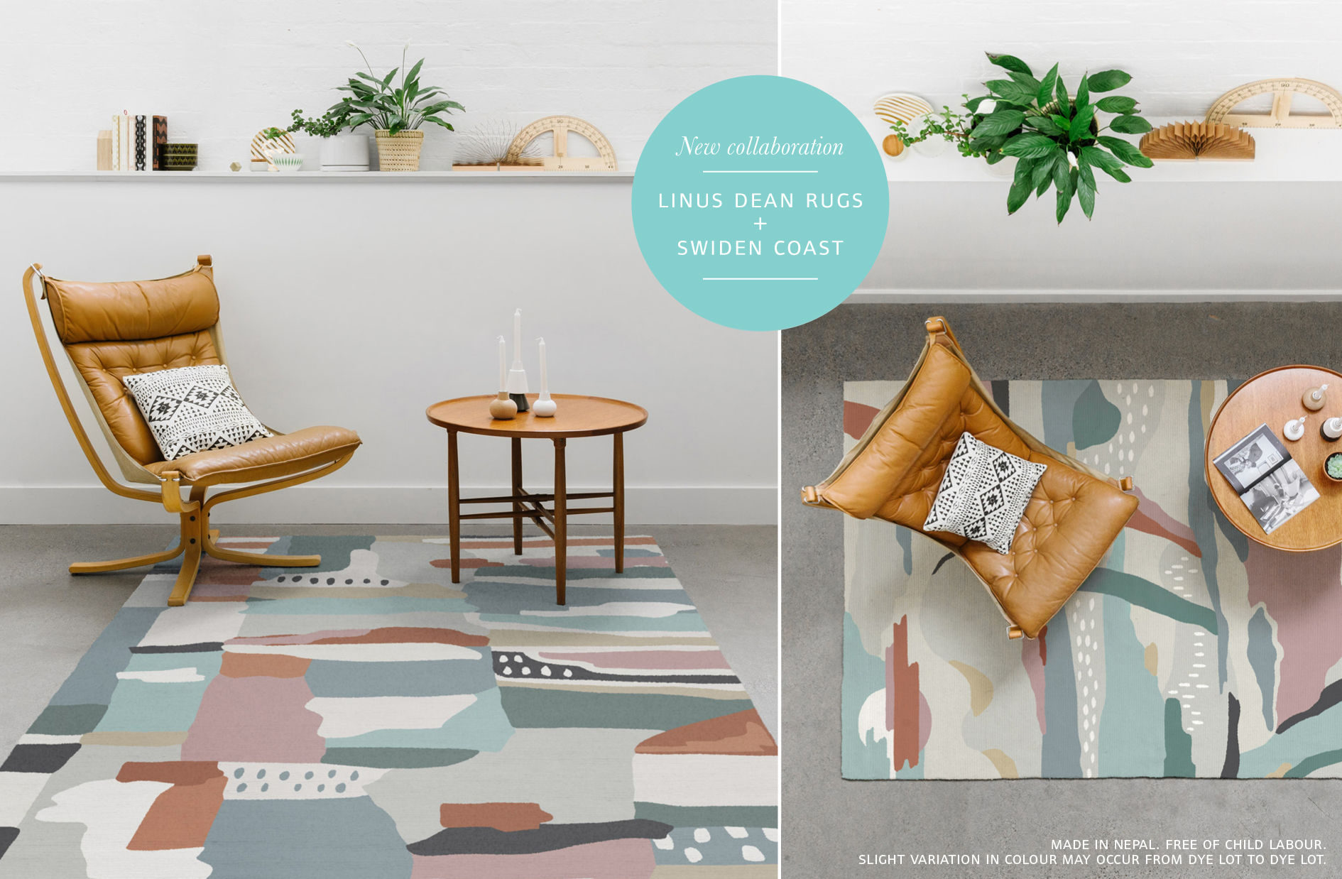 Swiden Design Is Proud To Announce A Rug Collaboration With Linus Dean