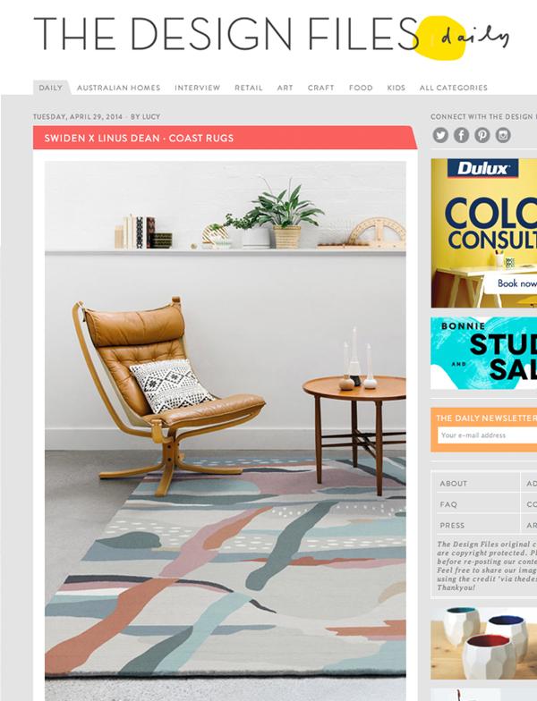 Coast Rugs On The Design Files