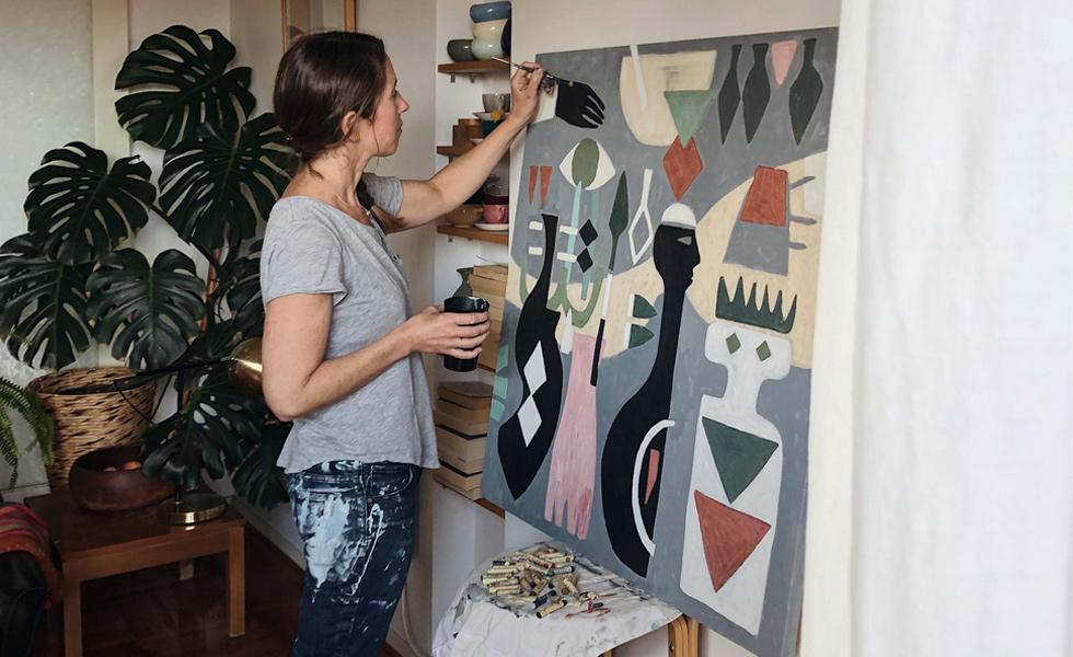 Artist and designer, Charlotte Swiden