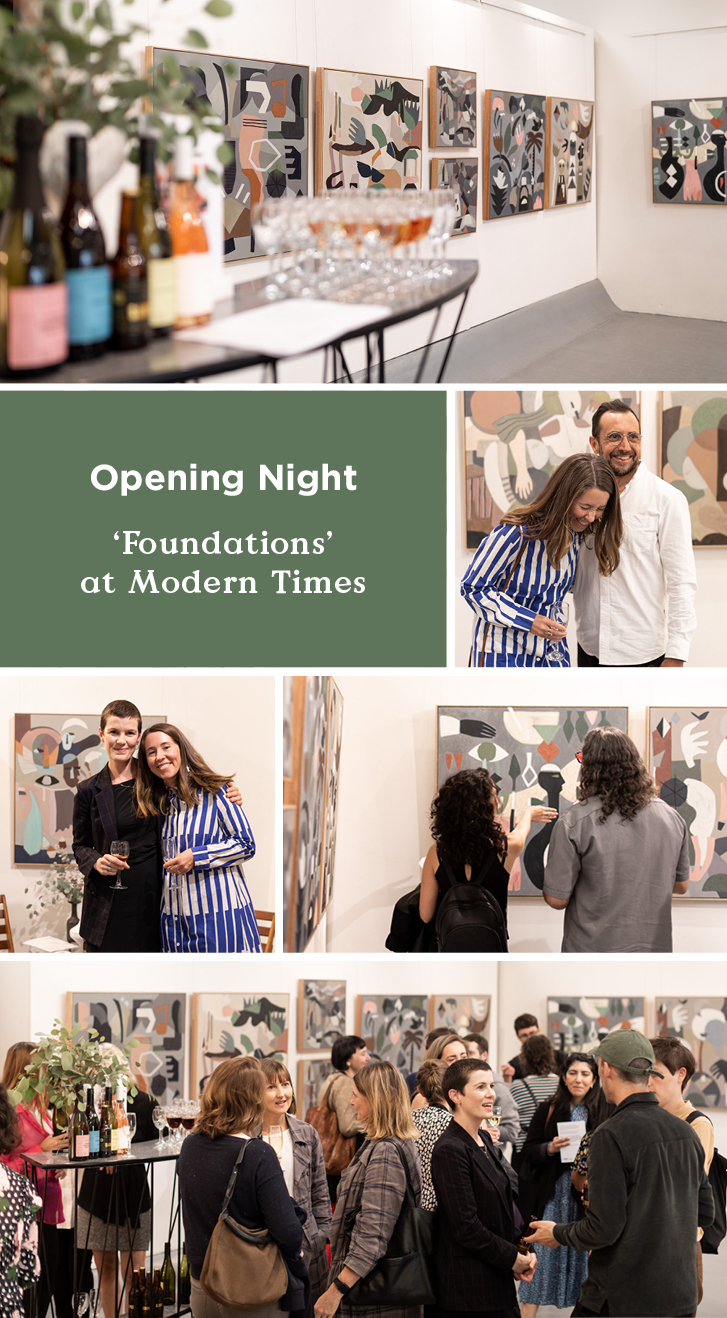 'Foundations' Opening Night At Modern Times